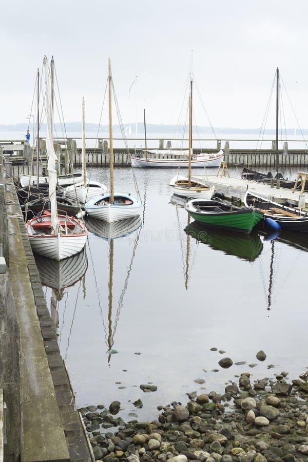 Museo al aire libre de los buques de guerra de Roskilde imagen de archivo libre de regalías