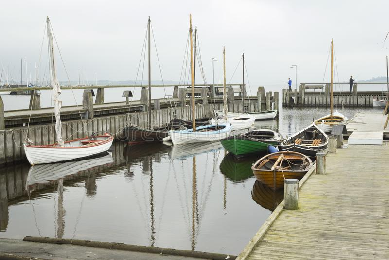 Museo al aire libre de los buques de guerra de Roskilde foto de archivo libre de regalías