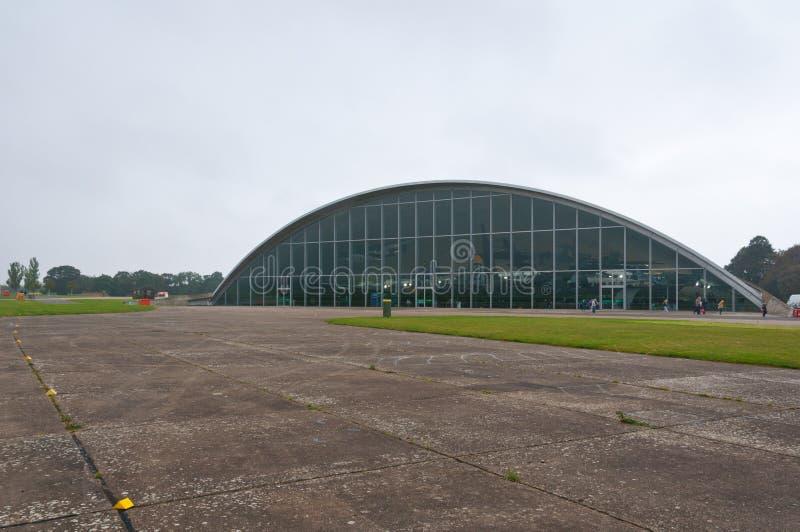 Museo americano del aire de Duxford imagenes de archivo