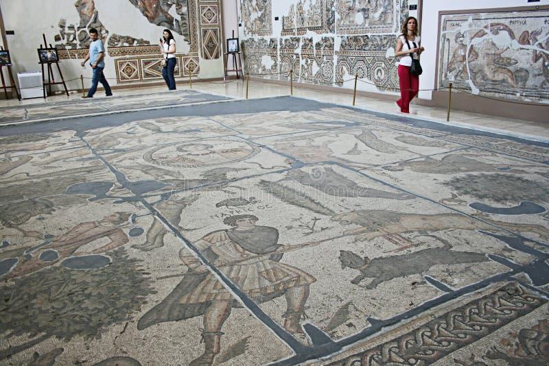 Museo Archaeological di Antiochia fotografie stock