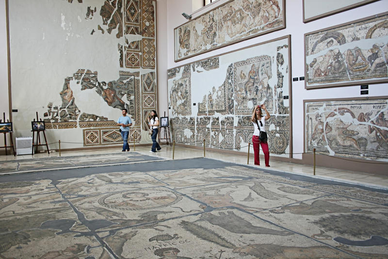 Museo Archaeological di Antiochia, Turchia fotografie stock