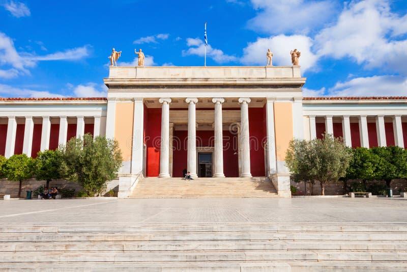Museo archeologico nazionale, Atene immagini stock