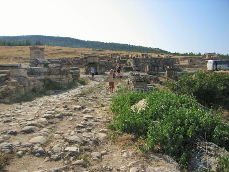 Museo arqueológico italiano en Heropolis imágenes de archivo libres de regalías