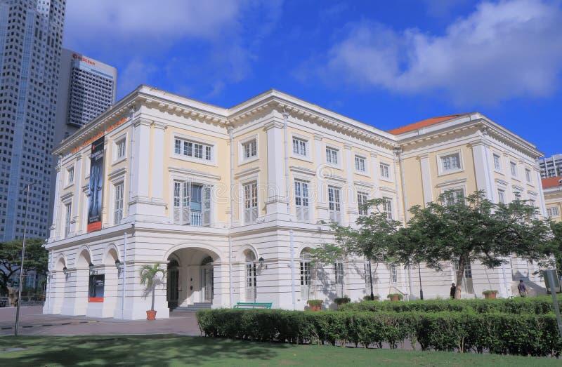 Museo asiático Singapur de las civilizaciones fotografía de archivo