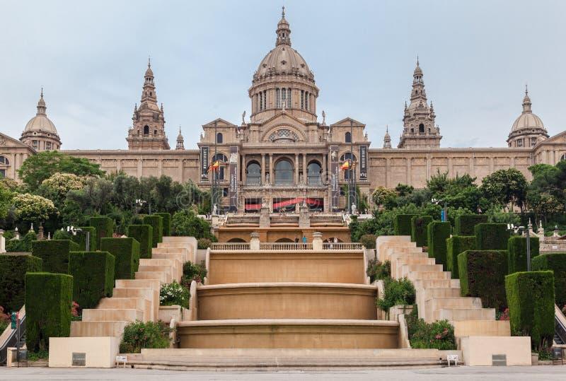 Museo Barcelona de MNAC fotografía de archivo