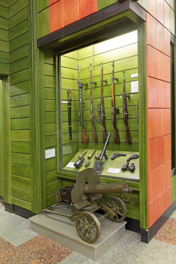 Museo centrale delle truppe del confine immagine stock libera da diritti