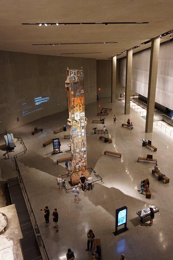 Museo commemorativo 11 New York di vista aerea 9 immagine stock