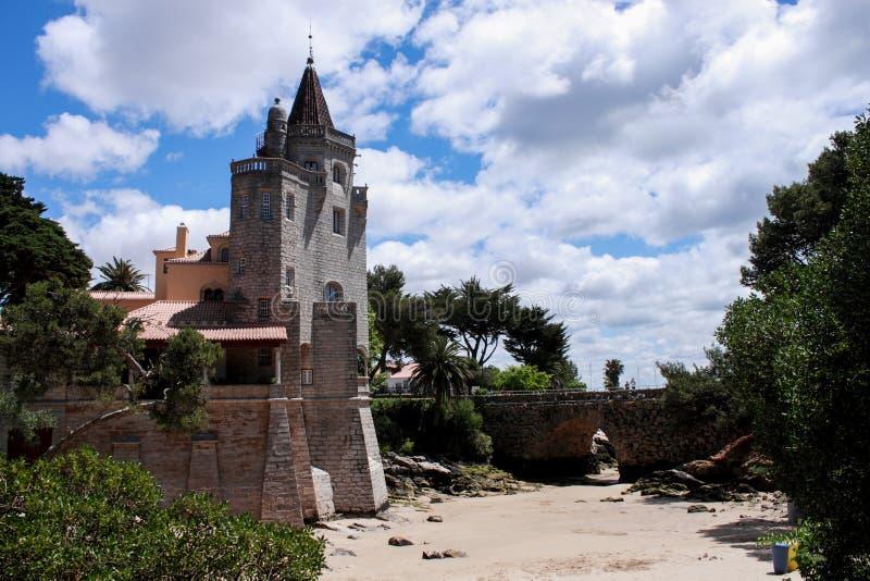 Museo Condes de Castro Guimaraes en Cascais fotos de archivo