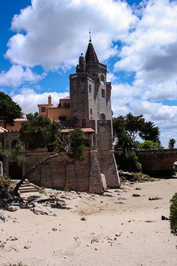 Museo Condes de Castro Guimaraes en Cascais imagenes de archivo