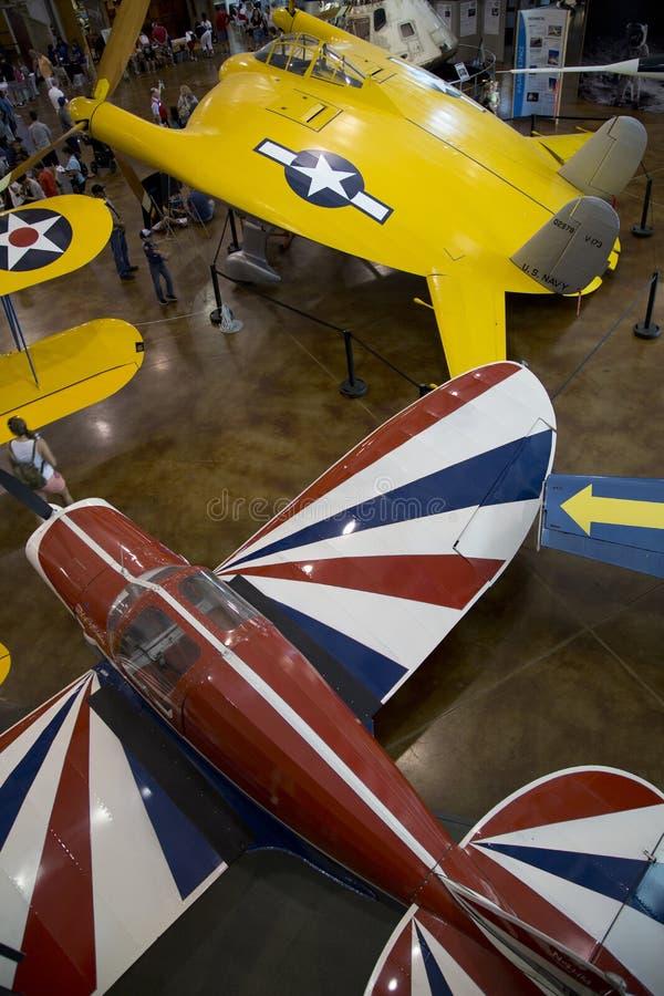 Museo Dallas di volo di frontiere di visita della gente fotografia stock libera da diritti