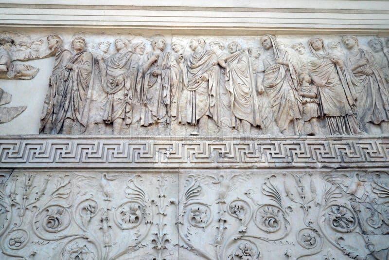 Museo de Ara Pacis en Roma, Italia imagen de archivo libre de regalías