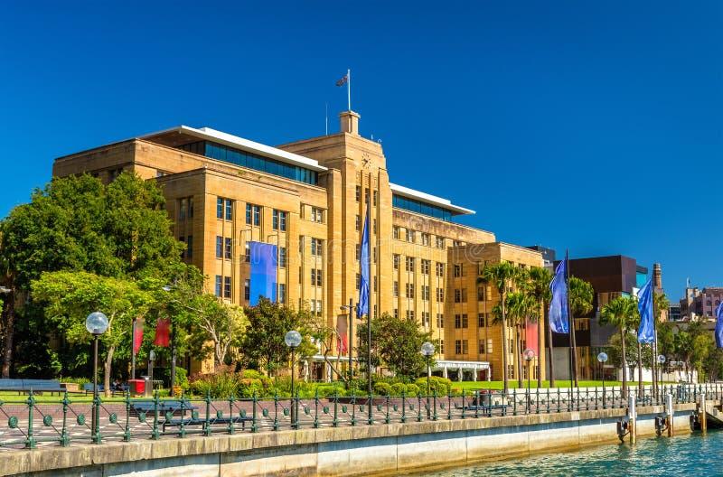 Museo de Art Australia contemporáneo en Sydney foto de archivo libre de regalías