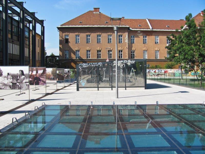 Museo de Art Metelkova contemporáneo fotografía de archivo libre de regalías