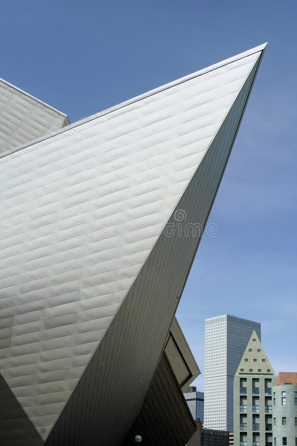 Museo de arte de Denver fotografía de archivo