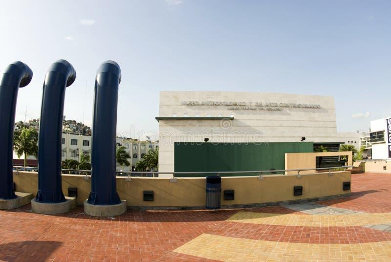Museo de arte editorial 2000 del malecon fotos de archivo libres de regalías
