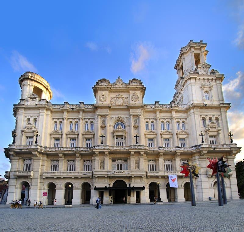 Museo de arte en La Habana, Cuba. Noviembre de 2009 foto de archivo libre de regalías