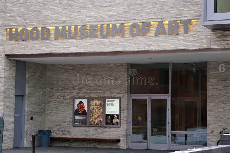 Museo de Arte de la Casa letras mayúsculas iluminadas colocadas en la pared exterior foto de archivo libre de regalías
