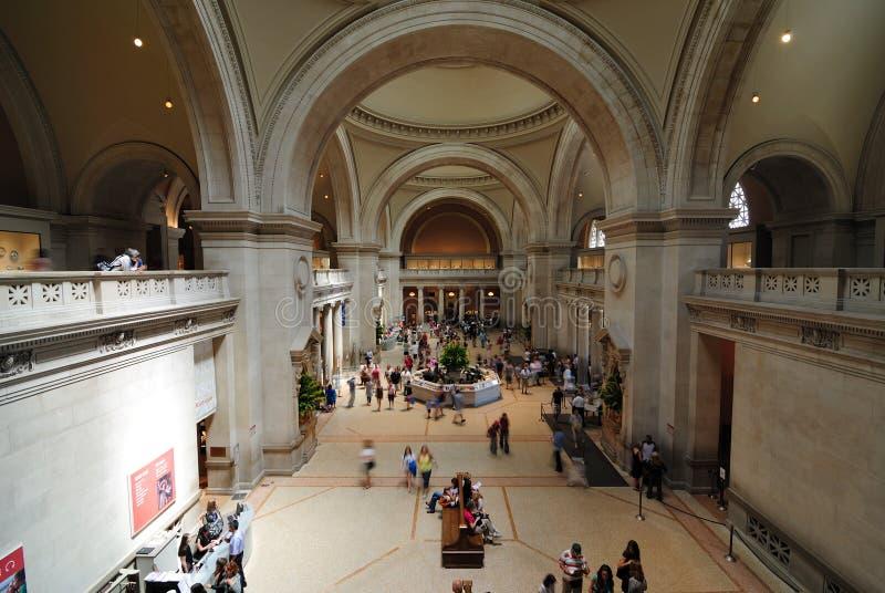 Museo de arte metropolitana fotografía de archivo