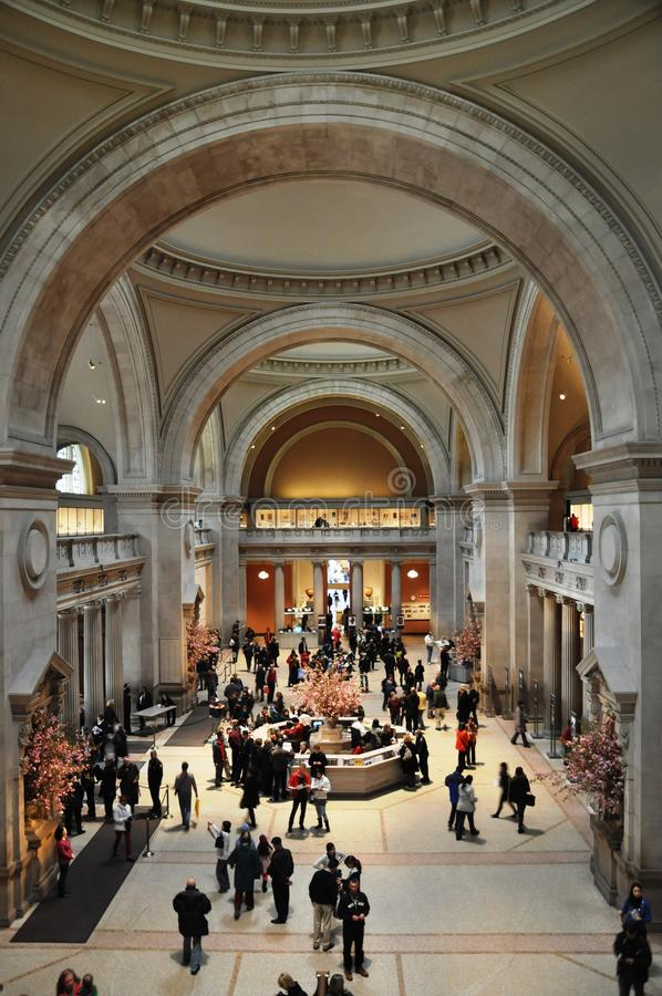 Museo de arte metropolitana en New York City imagen de archivo libre de regalías