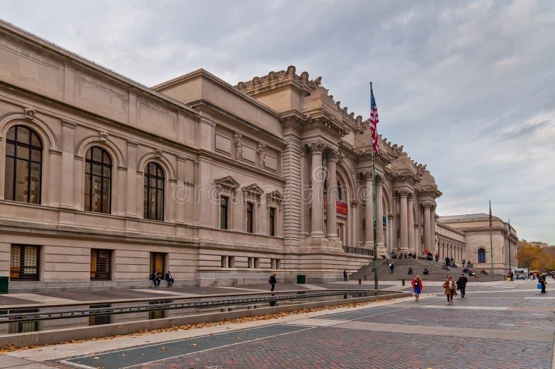 Museo de arte metropolitano imagen de archivo