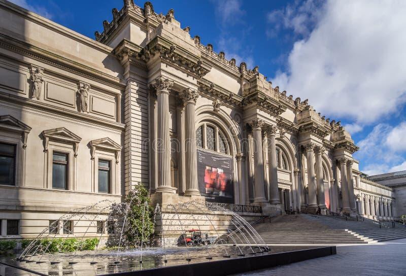 Museo de arte metropolitano foto de archivo