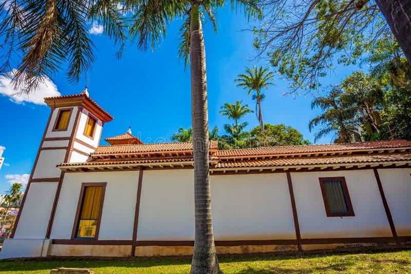 Museo de arte santo Uberaba, Minas Gerais - el Brasil fotografía de archivo libre de regalías