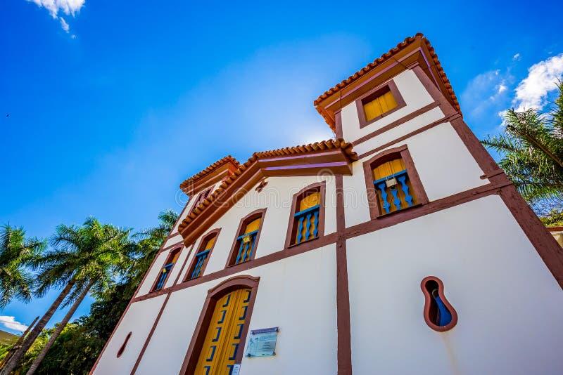 Museo de arte santo Uberaba, Minas Gerais - el Brasil imagenes de archivo