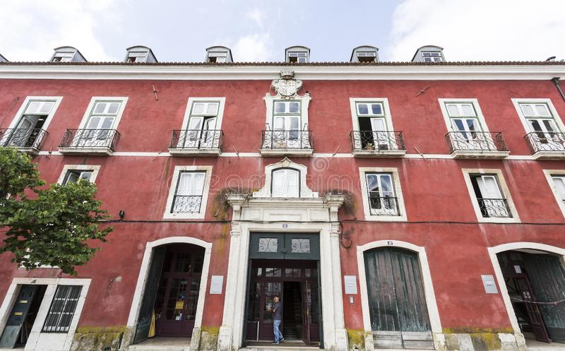 Museo de artes decorativos portugueses foto de archivo