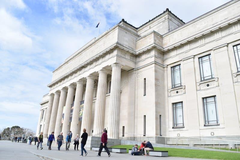 Museo de Auckland foto de archivo libre de regalías