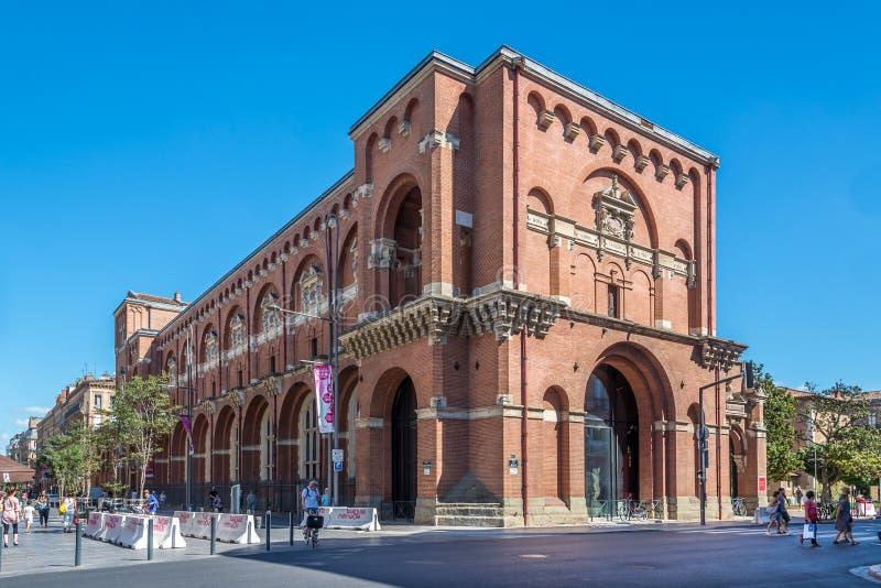 Museo de Augustins en Toulouse fotografía de archivo