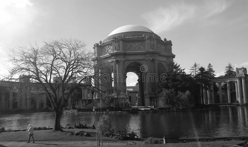 Museo de bellas arte fotografía de archivo libre de regalías