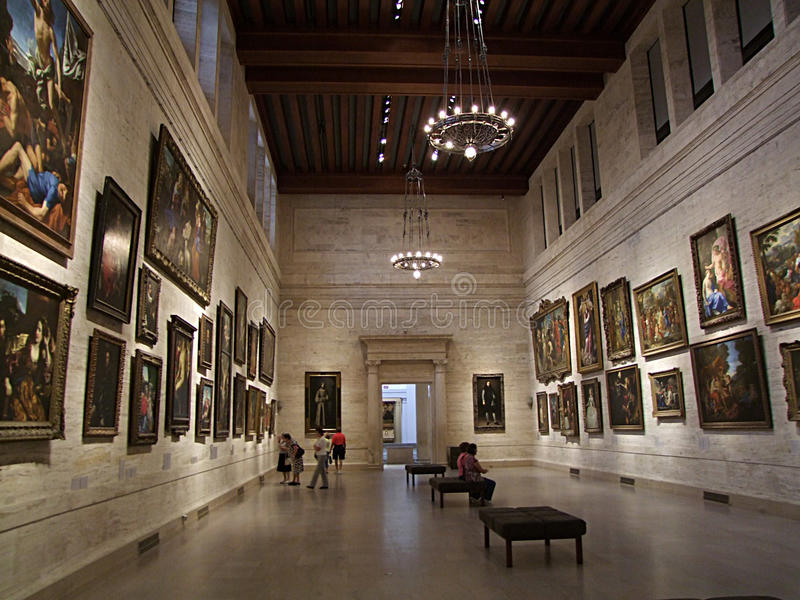 Museo de bellas arte, Boston fotos de archivo libres de regalías