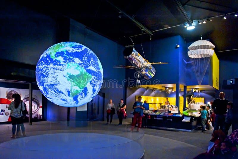 Museo de ciencia imagenes de archivo