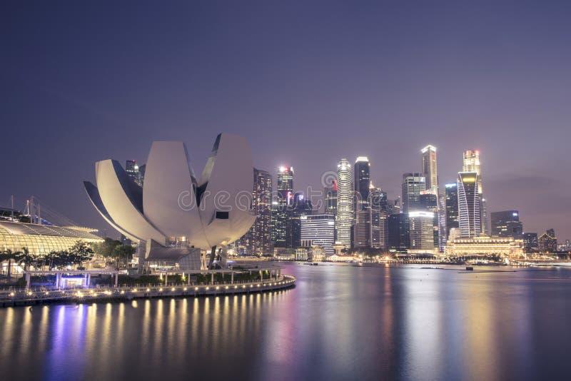 Museo de ciencia del arte, Singapur imágenes de archivo libres de regalías