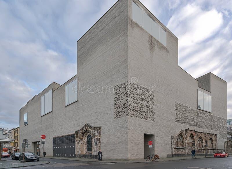 Museo de Colonia - de Kolumba foto de archivo