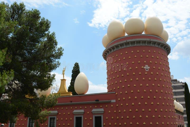 Museo de Dali foto de archivo libre de regalías