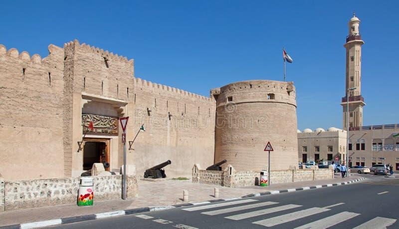 Museo de Dubai imagen de archivo