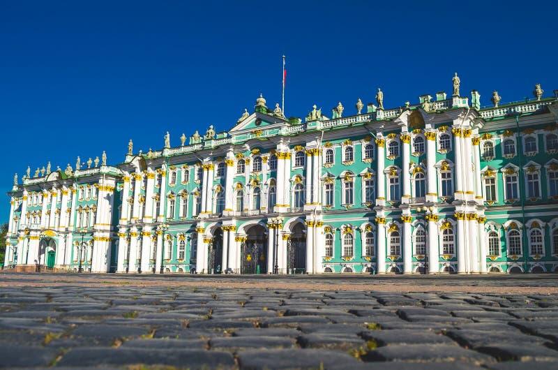 Museo de ermita de la vivienda del edificio de St Petersburg del palacio del invierno imagen de archivo