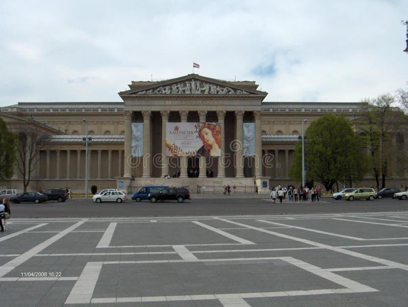 museo-de-fine-arti fotografia stock libera da diritti