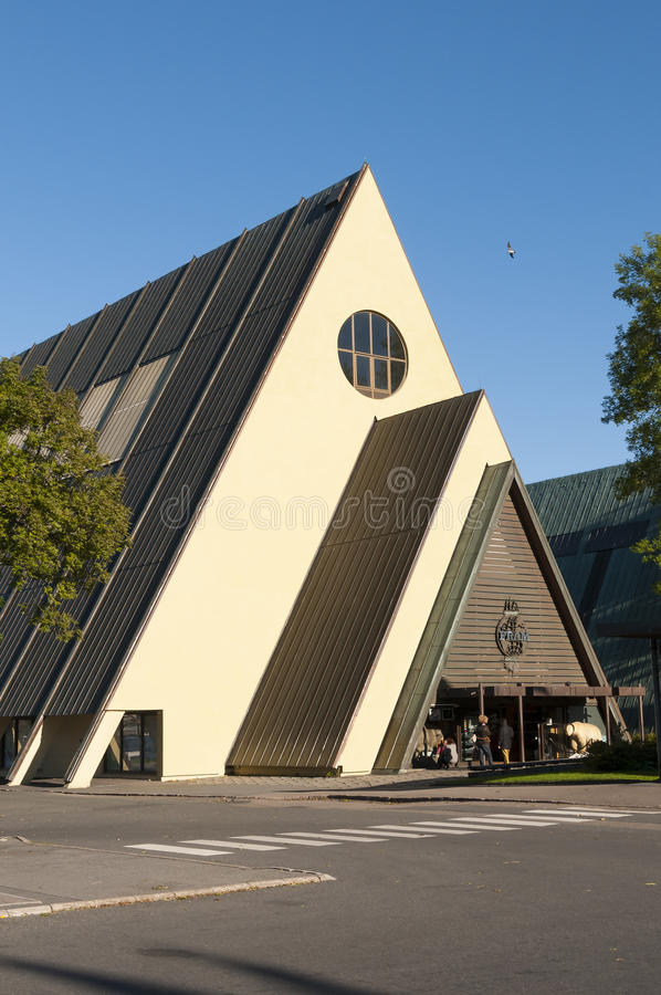 Museo de Fram, Oslo imagenes de archivo