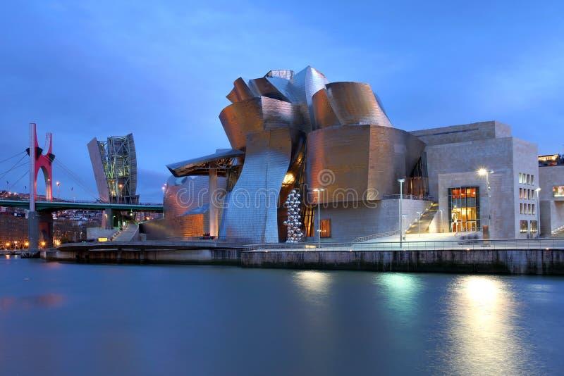 Museo de Guggenheim, Bilbao, España fotos de archivo libres de regalías