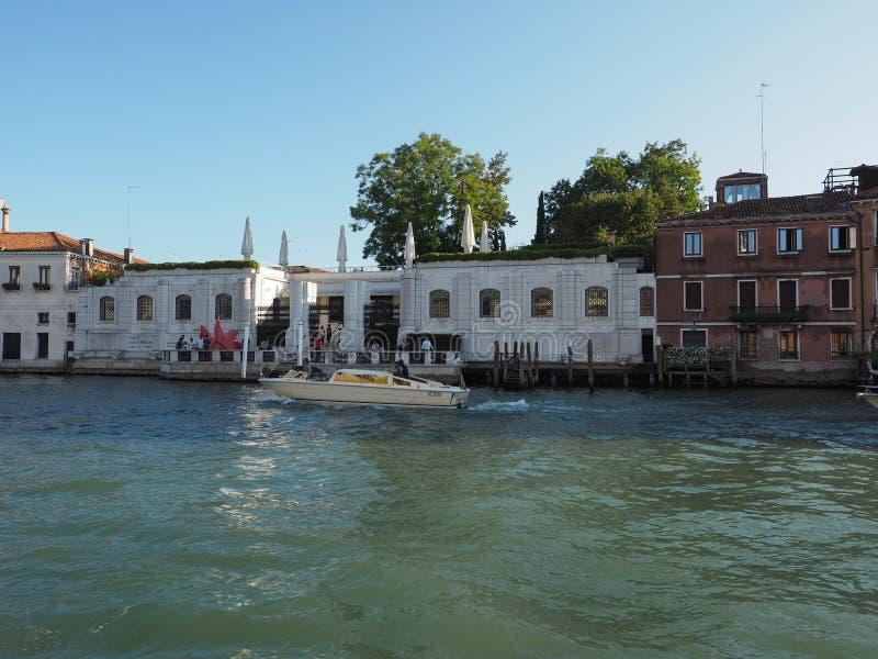 Museo de Guggenheim en Venecia fotos de archivo