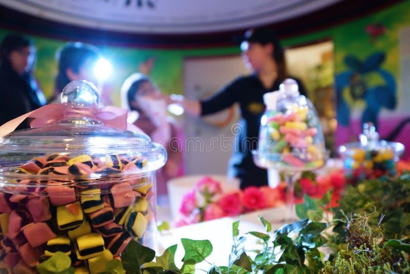 Museo de Haribo del caramelo vegetal imagen de archivo libre de regalías