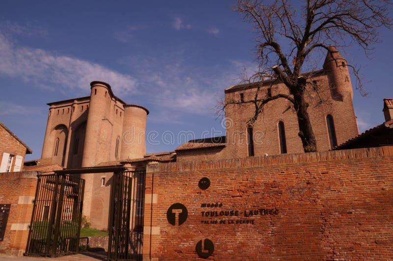 Museo de Henri de Toulouse-Lautrec en Albi, Francia imágenes de archivo libres de regalías