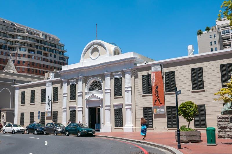 Museo de Iziko de la esclavitud fotografía de archivo libre de regalías