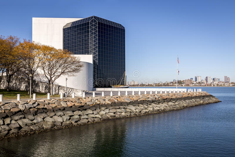 Museo de JFK fotografía de archivo
