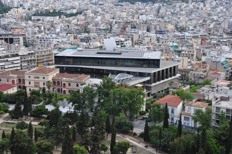 Museo de la acrópolis imagen de archivo