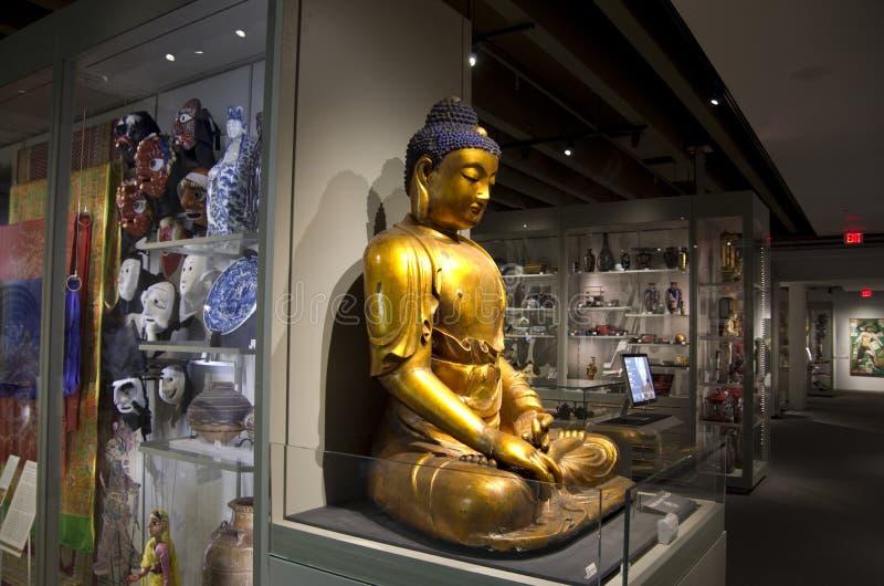 Museo de la antropología en UBC foto de archivo