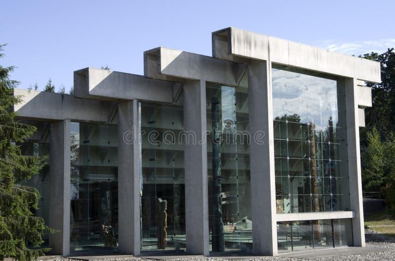 Museo de la antropología en UBC imagen de archivo libre de regalías