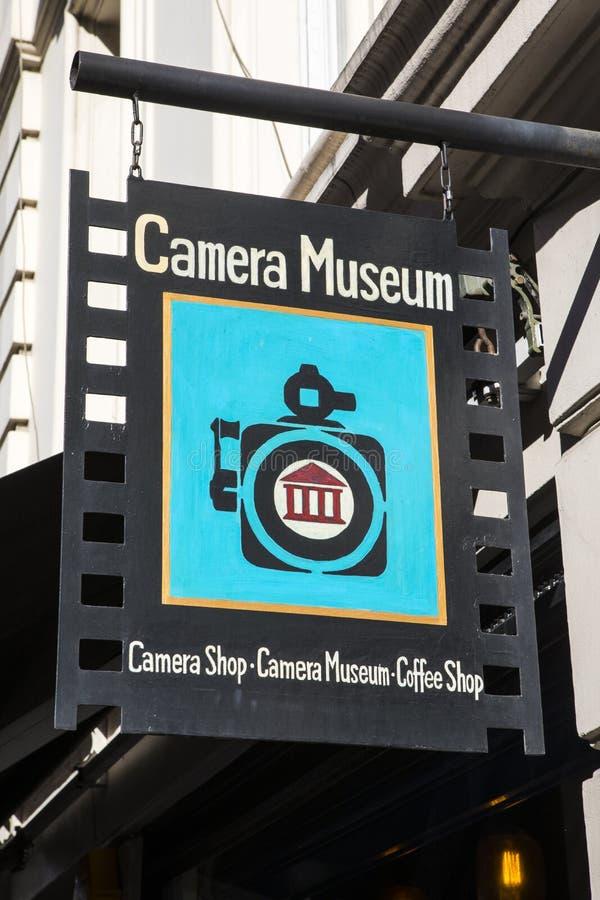 Museo de la cámara en Londres fotografía de archivo libre de regalías